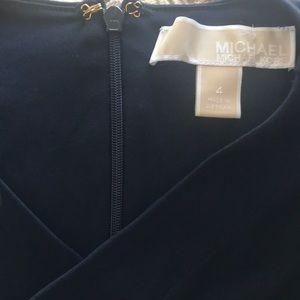 Michael Michael Kors navy blue jersey jumpsuit
